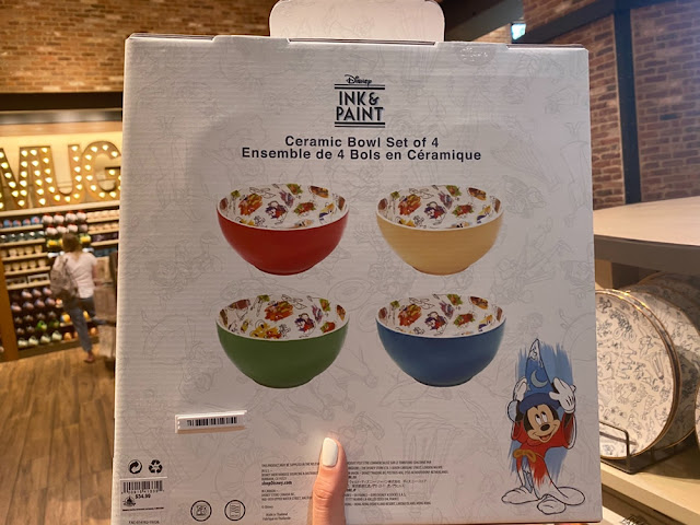 Ink & Paint Ceramic Bowl Set