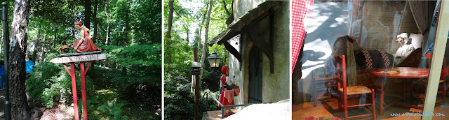 Efteling theme park, Little Red Riding Hood, Fairy Tale Forest