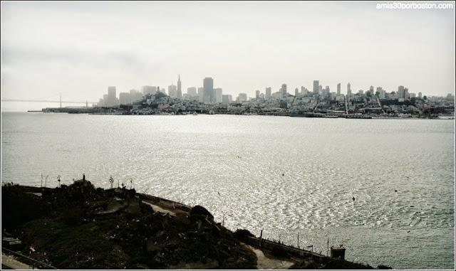 La Isla de Alcatraz: Vistas de San Francisco