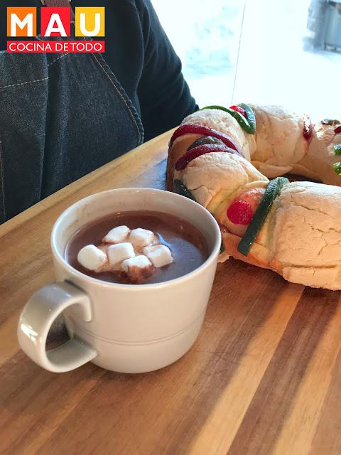 chocolate caliente receta mau cocina de todo coca bombones malvaviscos