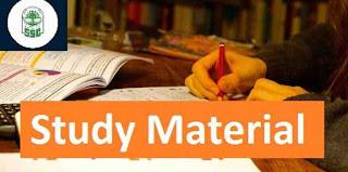 SSC Study Material PDF