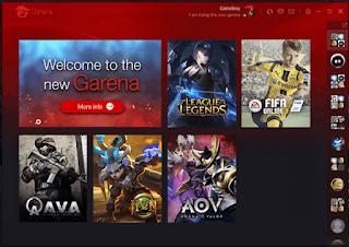 Garena + Kini berubah menjadi Garena V2