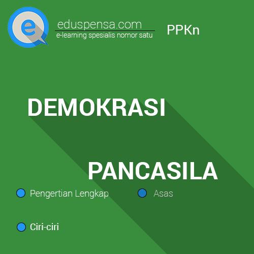 Pengertian, Ciri-ciri dan Asas Demokrasi Pancasila