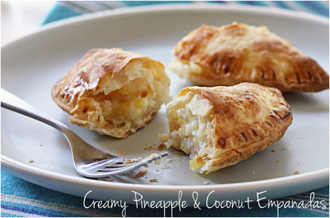 Country Cooking Recipes: Creamy Pineapple and Coconut Empanadas