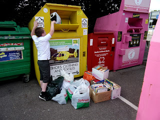 recycling banks asda car park fratton