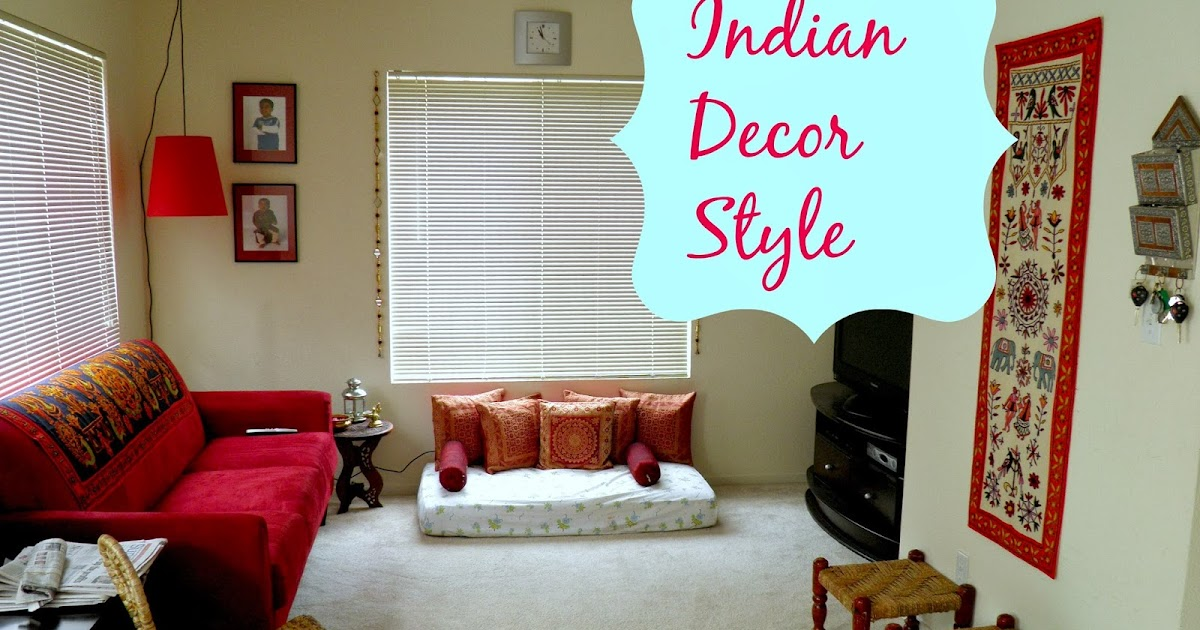 Weekend Tweaks Family Room Touch Of India