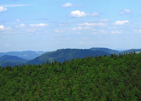 Straník (769 m n.p.m.).