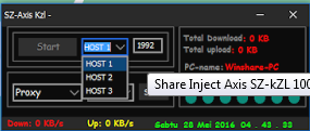 New Free Update Inject SZ KZL 29 30 31 Mei 2016-Juni 2016