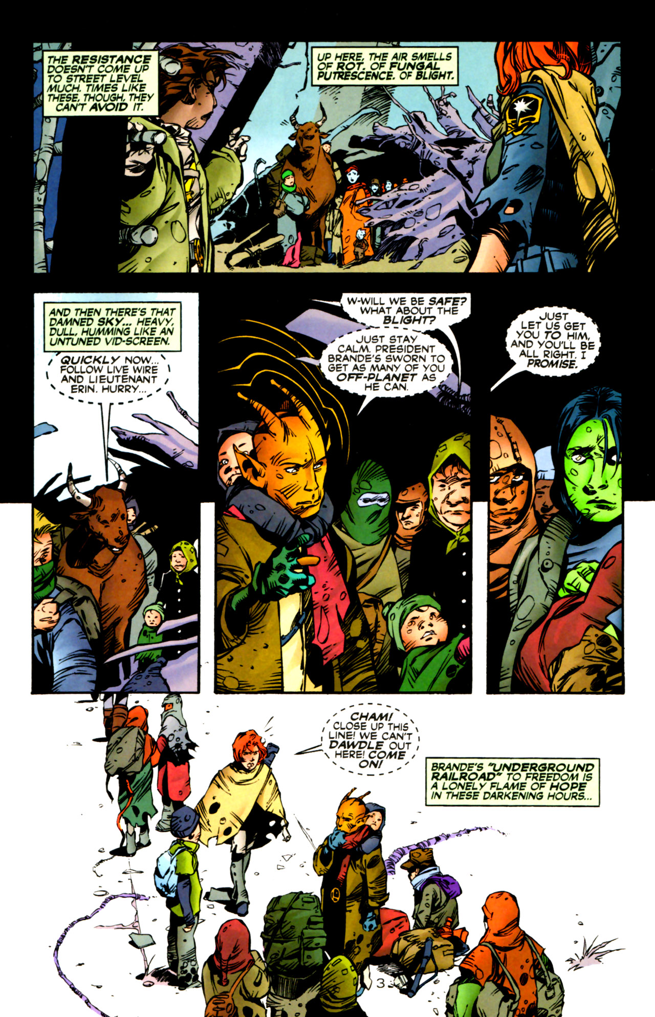 Legion of Super-Heroes (1989) 122 Page 3