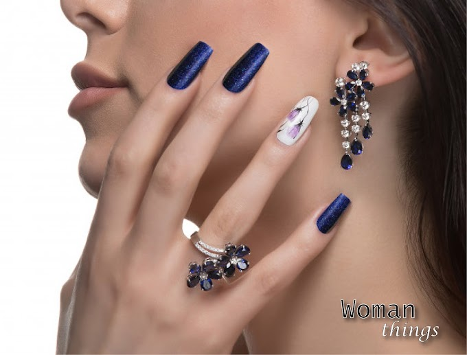 Universal nail art: Manicure that will look luxurious with any bow