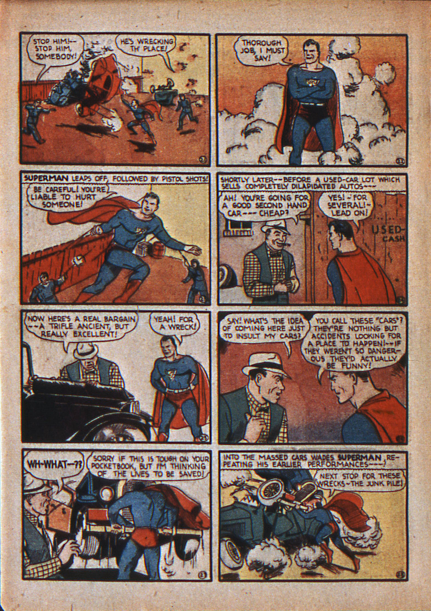 Read online Action Comics (1938) comic -  Issue #12 - 7