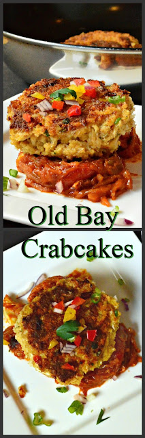 Old Bay Crab Cakes are straight from Baltimore. So good and so easy to make you must make them! #crabcakes #OldBay #seafood www.thisishowicook
