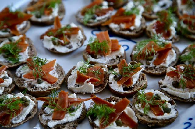 carrot 'smoked salmon' British Organic Carrot supper club pic: Kerstin Rodgers/msmarmitelover.com