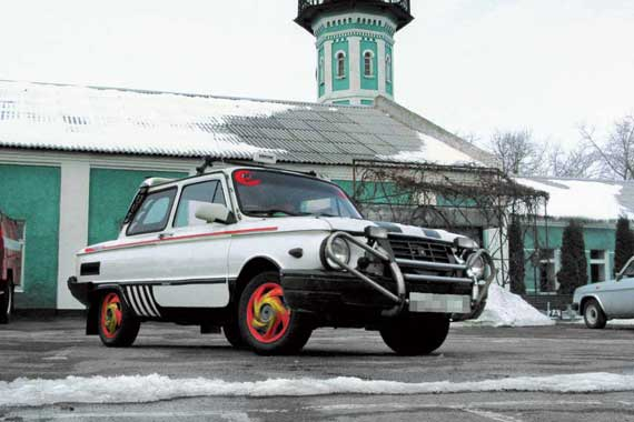 Тюнинг автомобилей Заз 968