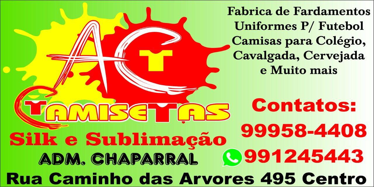 aee06b26f6 AC Camisetas e Sublimação - Chaparral - Jacobina-BA - Bahia News ...