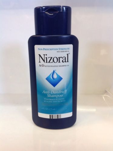 Nizoral Anti dandruff shampoo bottle