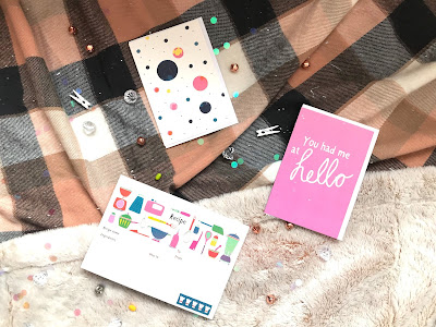flatlay of stationery from flying tiger