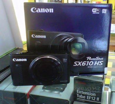 Harga dan Spesifikasi Canon PowerShot-SX610-HS  2226935b0a