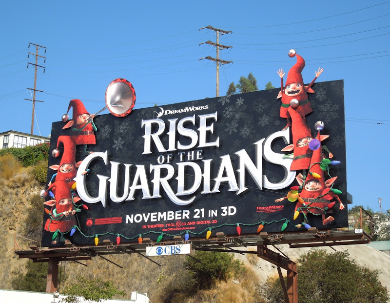 Rise of Guardians movie billboard