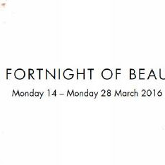 Beauty Fortnight at Harvey Nichols Manchester