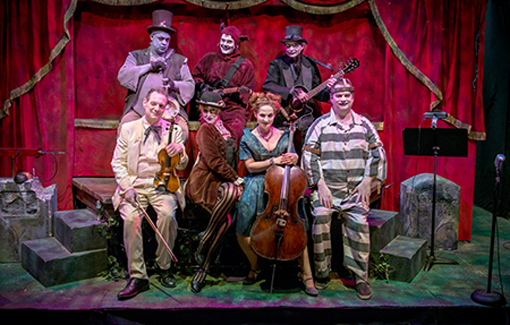 The Ghastly Dreadfuls | Center for Puppetry Arts | Photo: Clay Walker