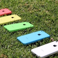 Video clip combines five colors for your iPhone 5C
