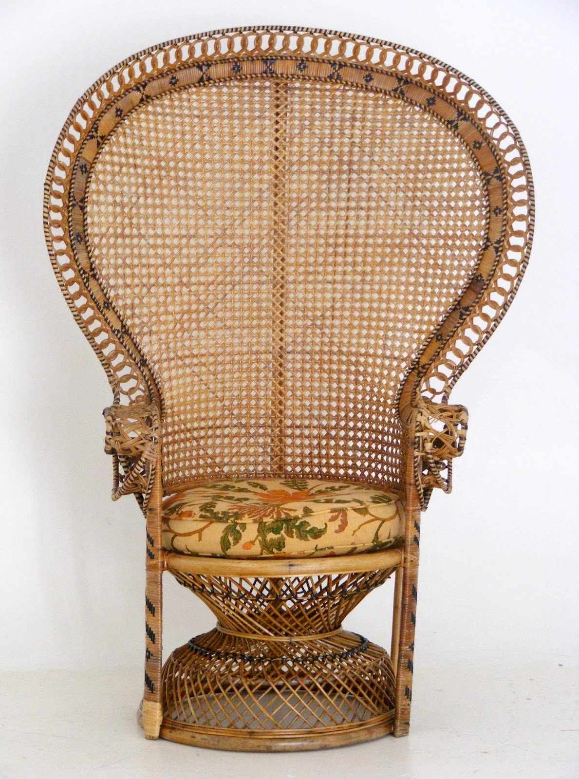 Vintage Peacock Chair Office Chairs With Adjustable Arms Vamp Furniture A At 22