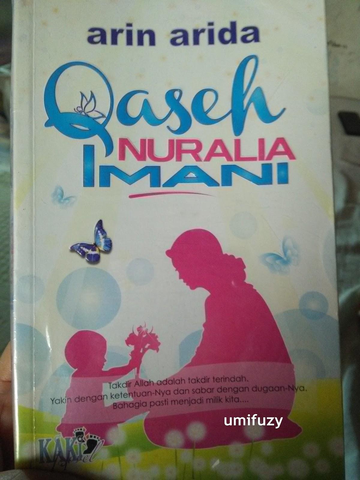 Novel Qaseh Nuraalia Imani - Arin Arida