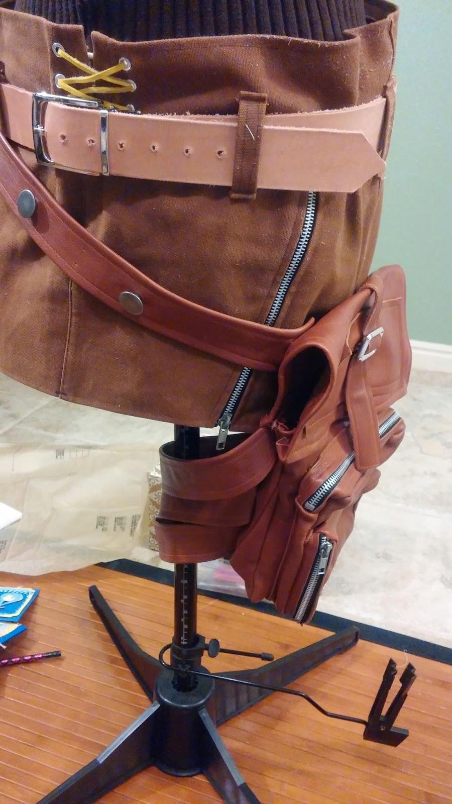 lightning cosplay leg bag pocket purse final fantasy xiii