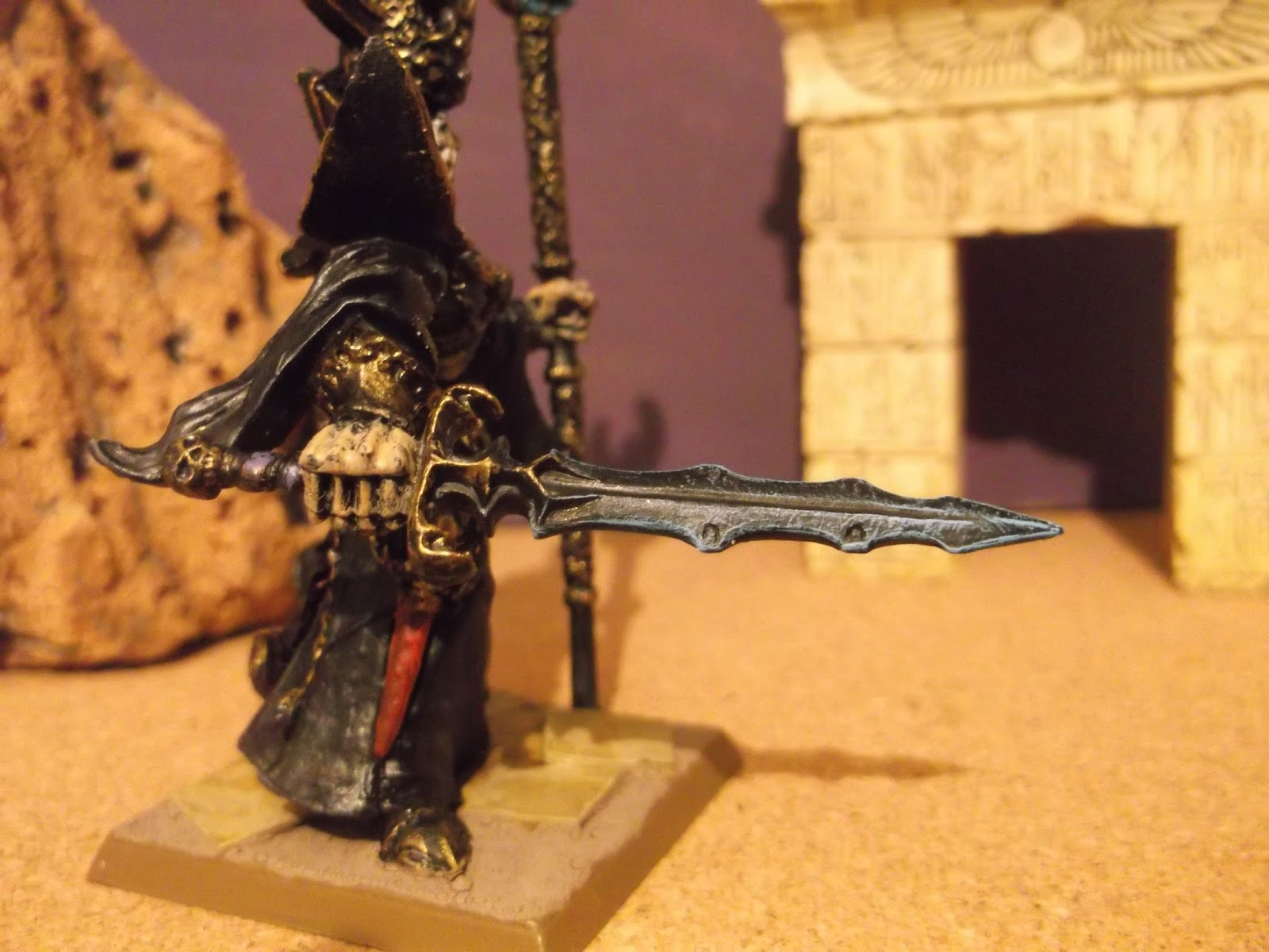 Painting Morghast Bone Colours