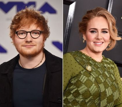 Ed Sheeran beats Adele in Rich List of wealthiest musicians as he doubles his wealth in just a year