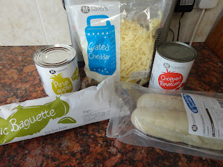 Morrisons M Savers Baguette Pizza Ingredients