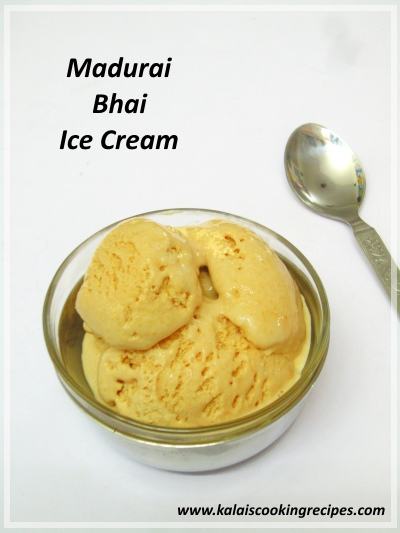 Madurai Bhai Ice Cream
