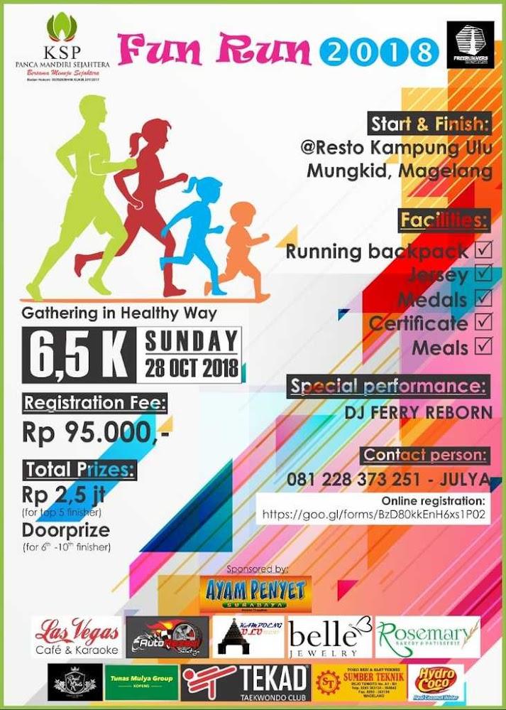 KSP Panca Mandiri Sejahtera Fun Run • 2018
