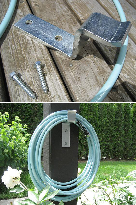 DIY Garden Hose Storage ~ Idees And Solutions