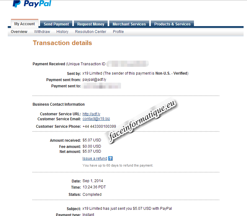 payment proof adfly