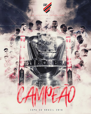 Atletico Paranaense Copa do Brasil 2019 Poster Campeão Athletico