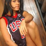 Andrea Rincon, Selena Spice Galeria 27 : Camiseta Basket, Cachetero Negro Foto 24