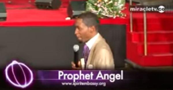 SUNDAY SERVICE WITH PROPHET UEBERT ANGEL