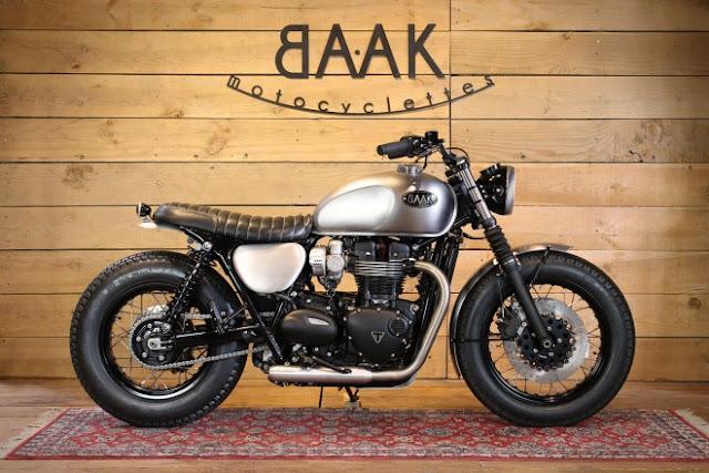 BAAK Motorcyclettes t120 Dandy Bonnie