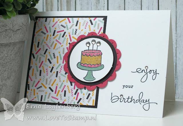 lovetostamp wwys#65 stampinup endless birthday wishes