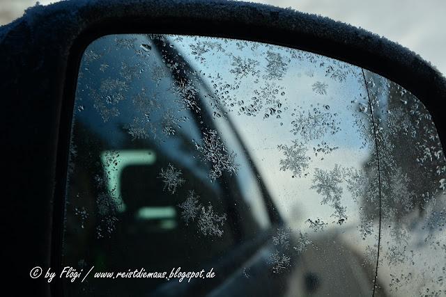 Schwarzwald - Raureifkristalle auf dem frischen Schnee