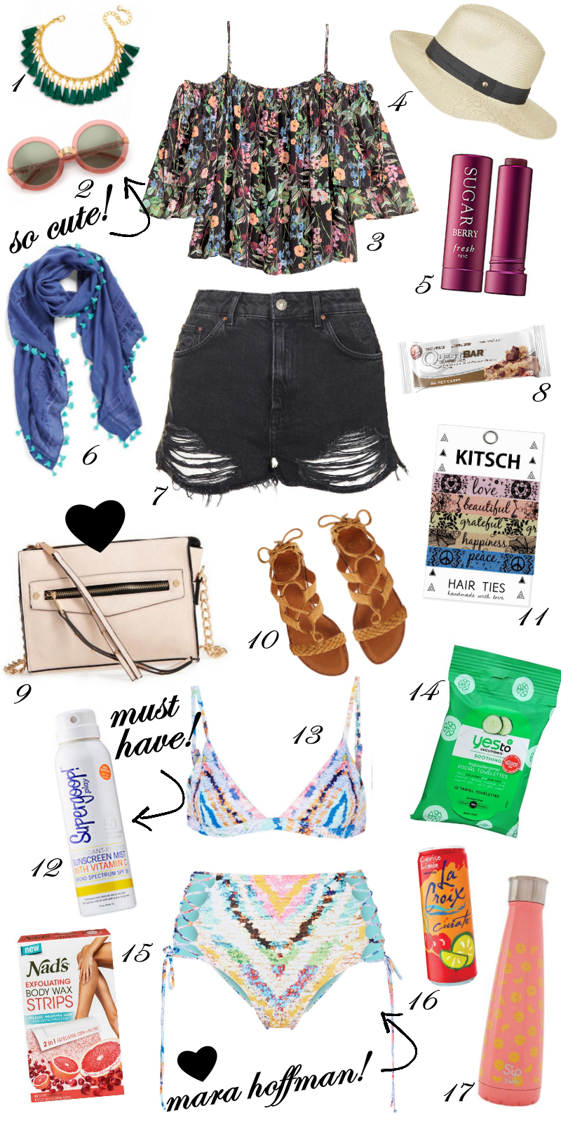 coachella must have packing list music festival