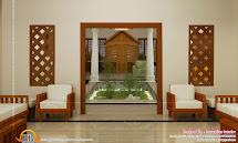 Beautiful Home Interiors - Kerala Design And Floor Plans