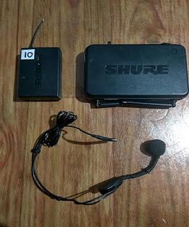 Sewa Mic Headset Shure SVX, Headdmic