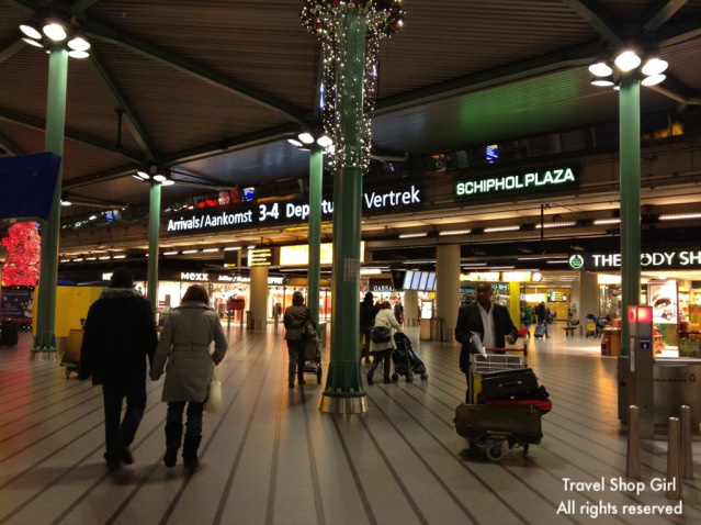 schiphol airport shopping