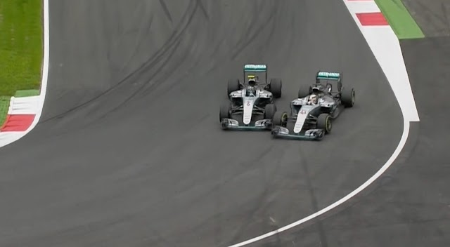 Terlibat Crash, Rosberg dan Hamilton Panas