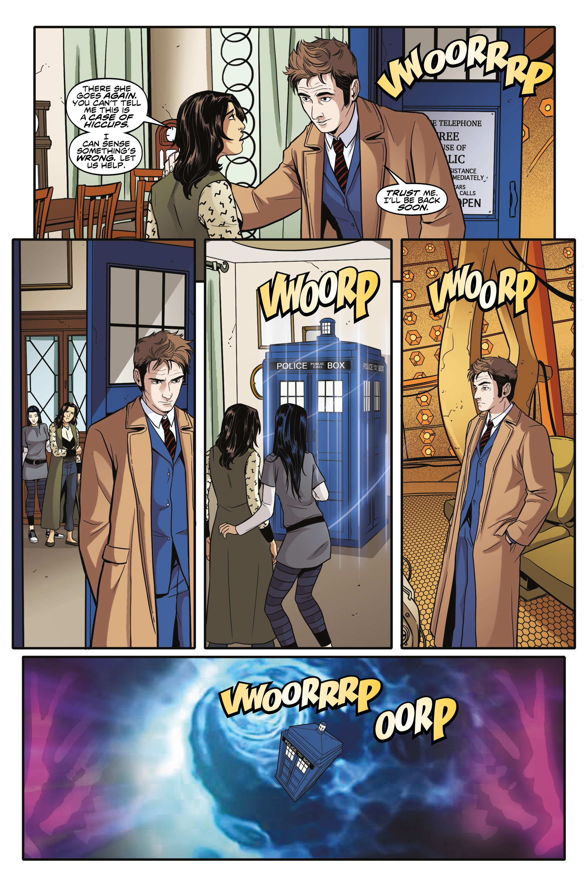 Read online Doctor Who: The Tenth Doctor Year Three comic -  Issue #6 - 19