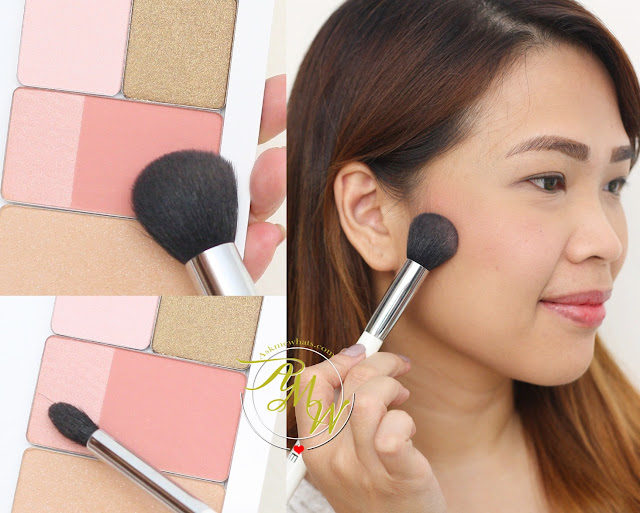 a photo of Nikki Tiu AskMeWhats wearing  Fushion Blush and Illuminator shade 204