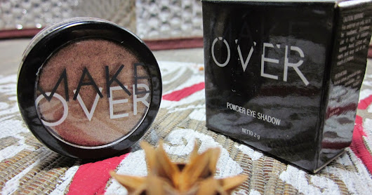 Makeup Review: Powder Eye Shadow Golden Attack From Make Over